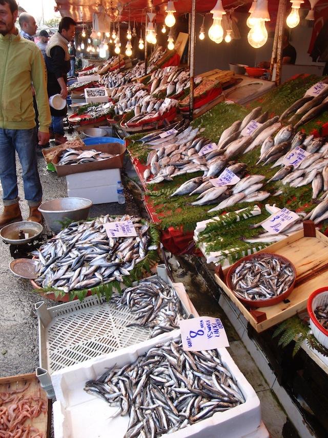 blog golly&bossy - tržnica ribe