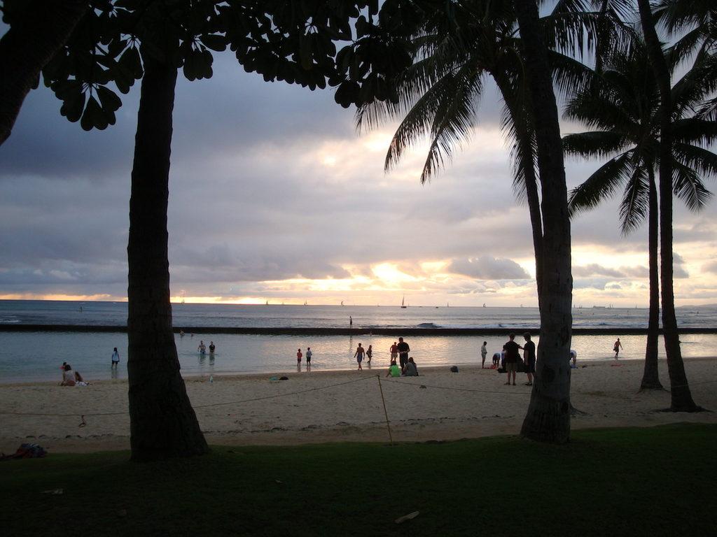 golly&bossy na havajskim plažama