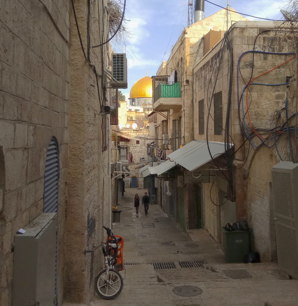 golly&bossy u Izraelu - Kupola na Stijeni