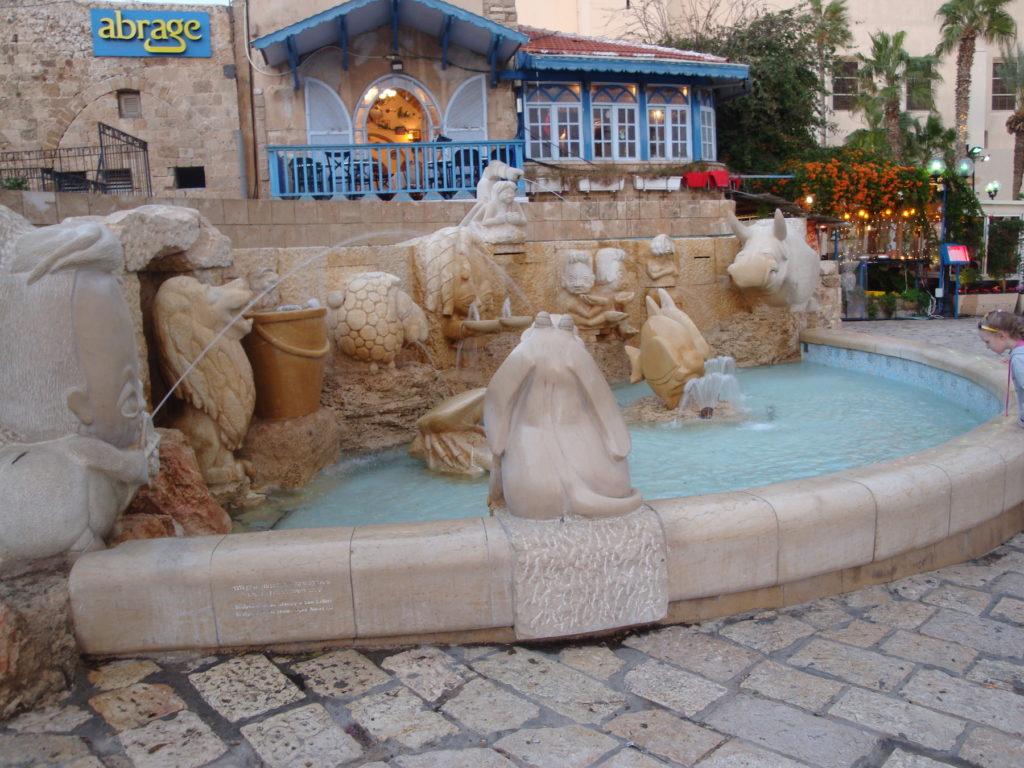 blog golly&bossy - izrael - jaffa - fontana