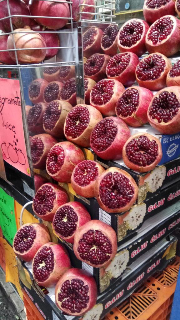 blog golly&bossy - tel aviv - pomegranate