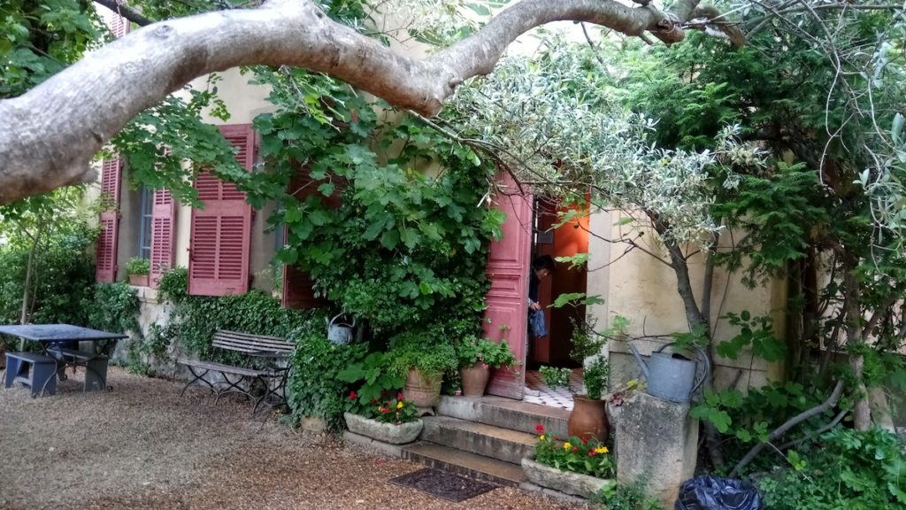 Cézanne, atelje studio, Aix-en-Provence